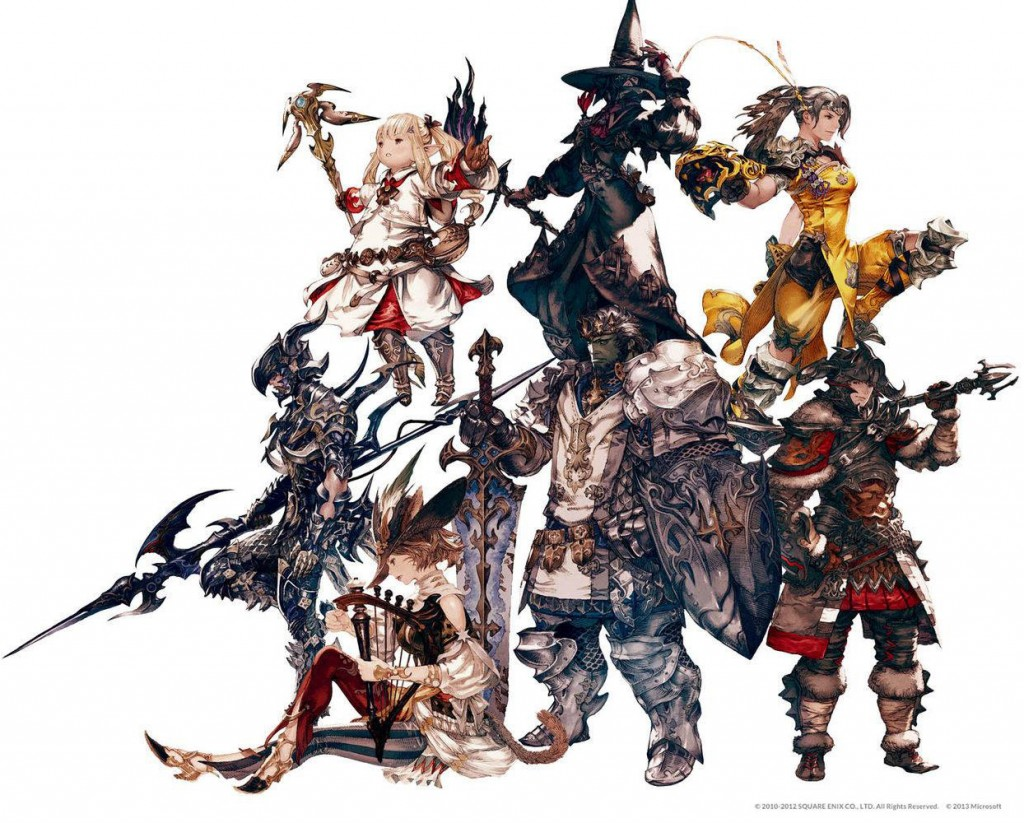 The Differences in Races in Final Fantasy XIV – FreeFFXIVGuide